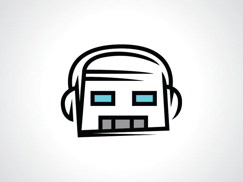 Gamer Bot Logo Template by Heavtryq on Dribbble.