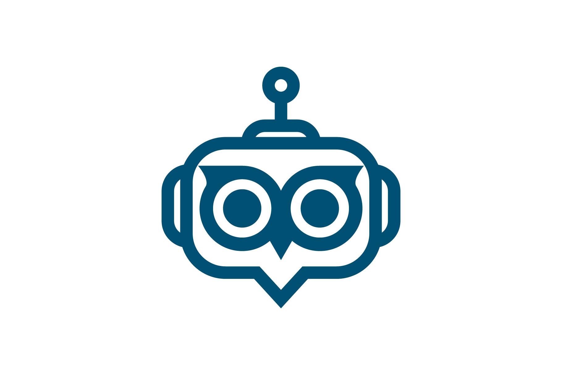Owl Bot Logo.