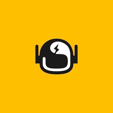 helmet #thunder #robot #bot #logo #vectorart #vector #shadow.