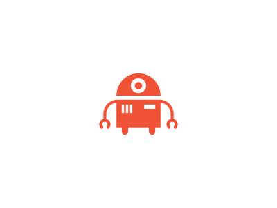 Robot / logo design.