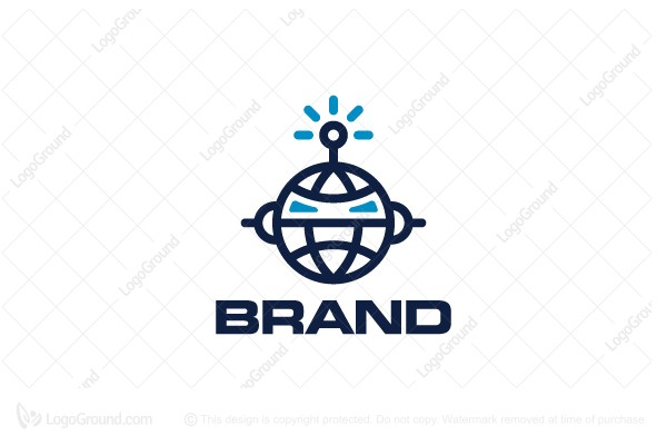Exclusive Logo 189623, Global Bot Logo.