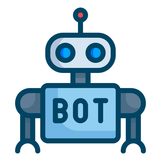 Robot Icon of Colored Outline style.