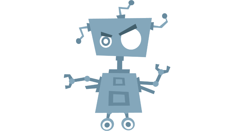 Bot Clipart transparent PNG.