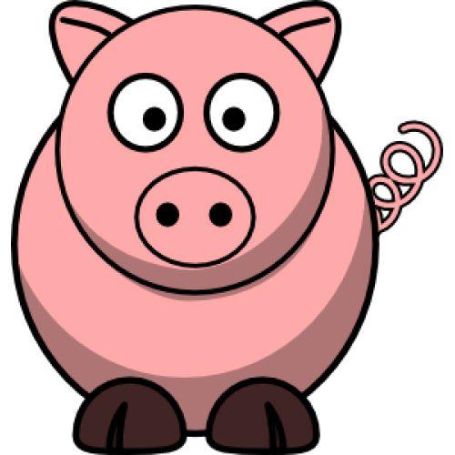 Cartoon Pig.