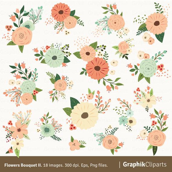 Botanical clip art.