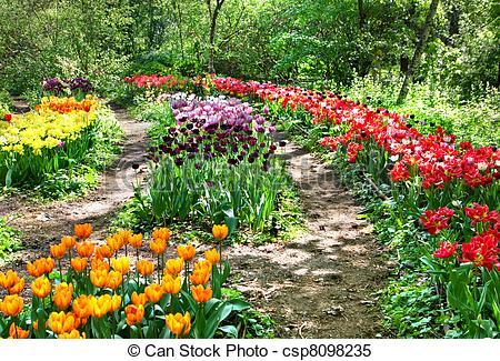 Botanic garden clipart.