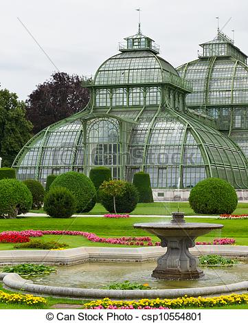 Stock Photography of Botanical Garden of Vienna.