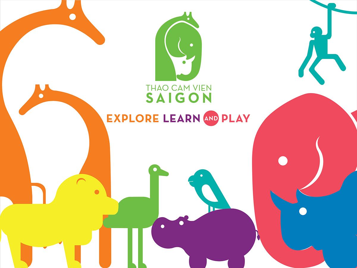 Saigon Zoo and Botanical Gardens on Behance.
