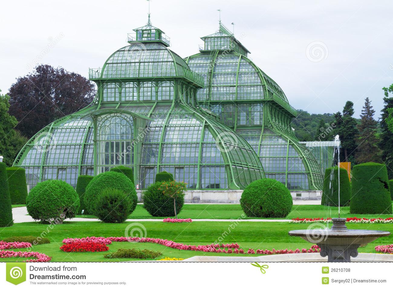 Botanical Garden Of Vienna Royalty Free Stock Photos.