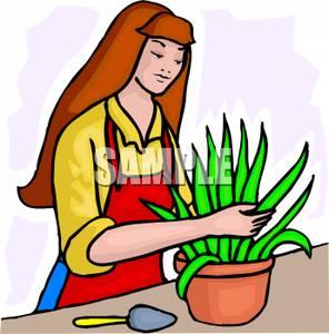 Botanist clipart #7