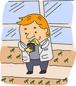Botanist Stock Illustrations.
