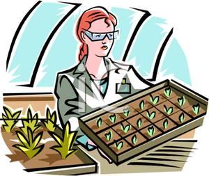Botanist clipart #14