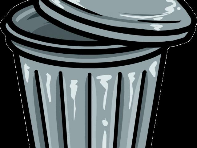 Trash Can Clipart Foul Odor.