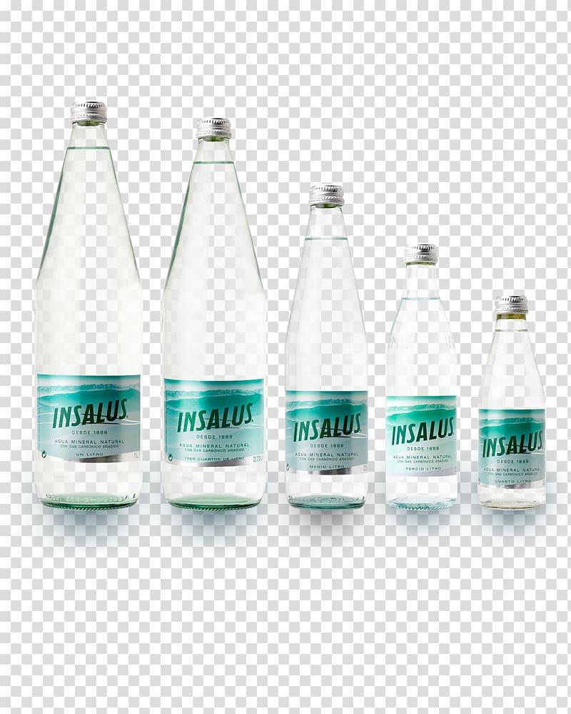 Mineral water Glass bottle Agua De Insalus SA Fizzy Drinks.