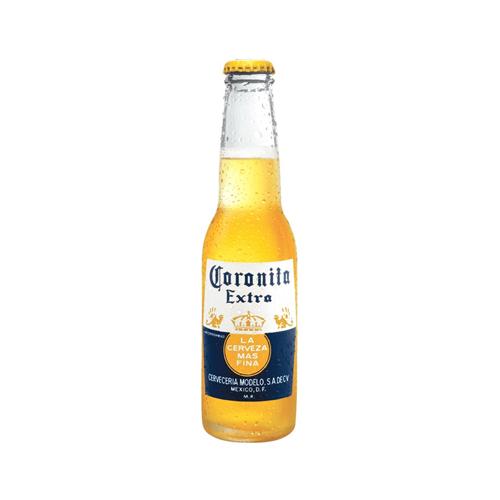 Cerveza Botella Coronita Extra.