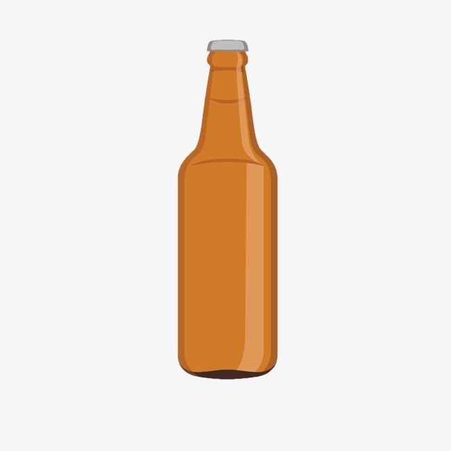 Dibujos De Botellas De Cerveza, Cartoon, Cerveza, Licor Imagen PNG.