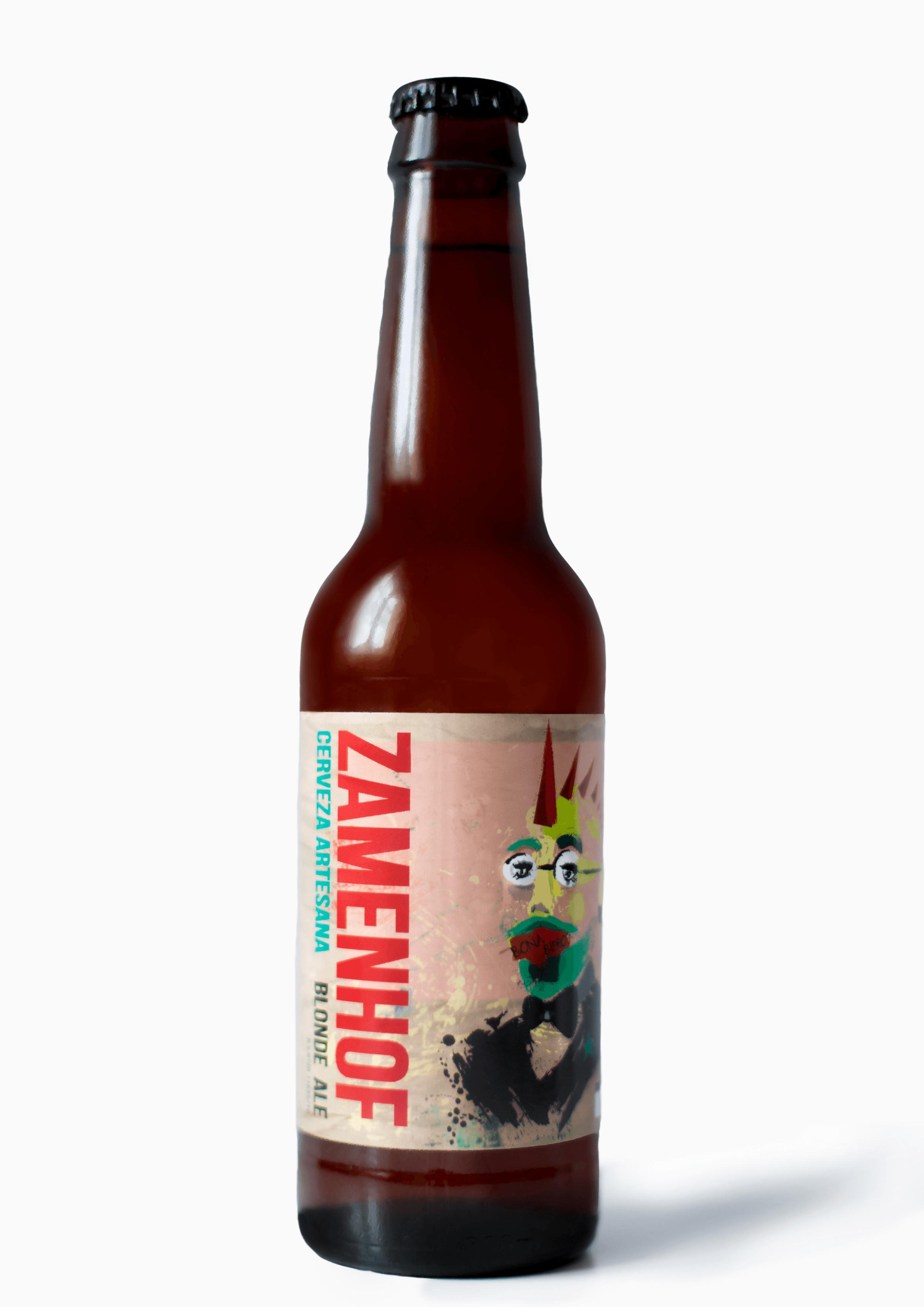 Botella Zamenhof.
