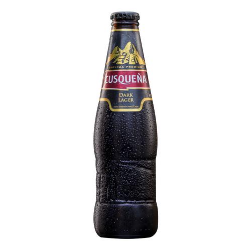 Cerveza Cusqueña Dark Botella 330ml.