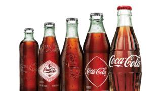 100 Años Botella Coca.
