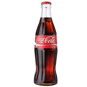 CARTON 24 COCA COLA GLASS BOTTLE 330ml.