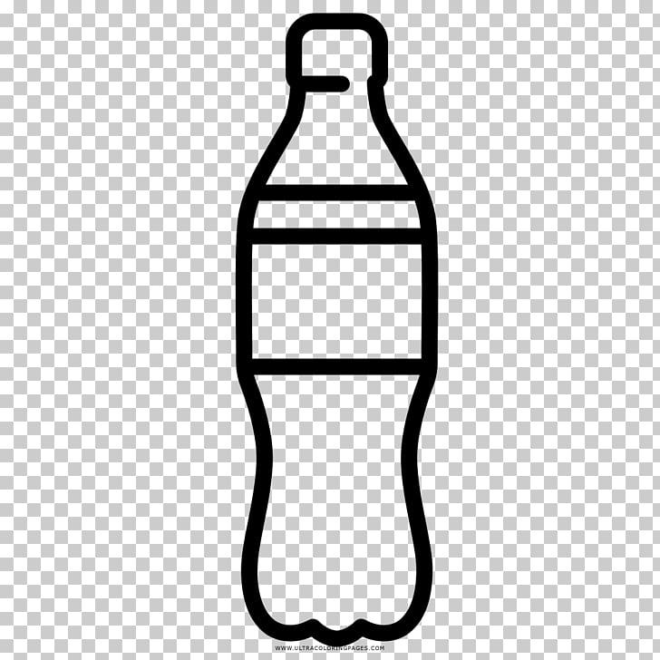 Bebidas gaseosas botella de plástico iconos de computadora.