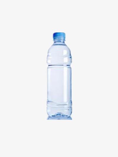 Agua Mineral, El Agua Pura, El Agua Embotellada, Botella De Plástico.