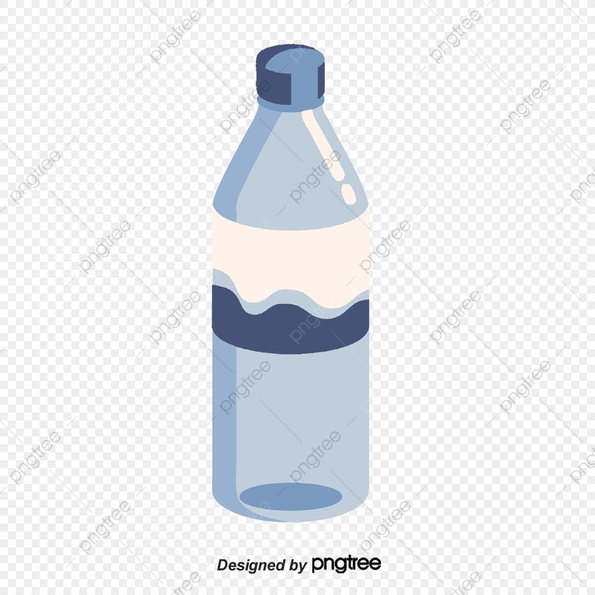 Botellas De Agua De Plastico, Botella De Agua, Botella, De Plástico.