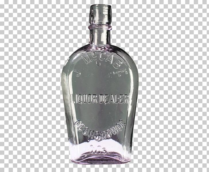Bebida destilada botella de vidrio licor milwaukee cadera cadera.