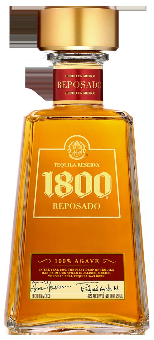 Tequila 1800 Reposado (Botella).