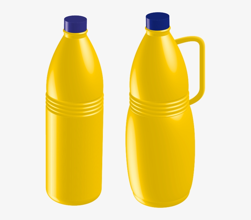 Plastic Bottle Vector Png.
