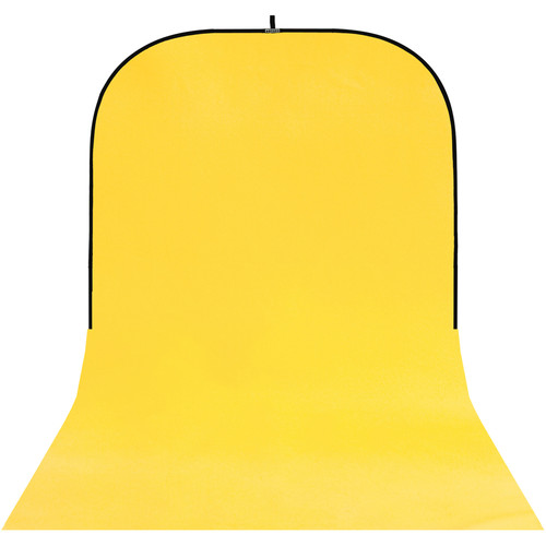 Botero #025 Super Collapsible Background (8x16', Yellow).