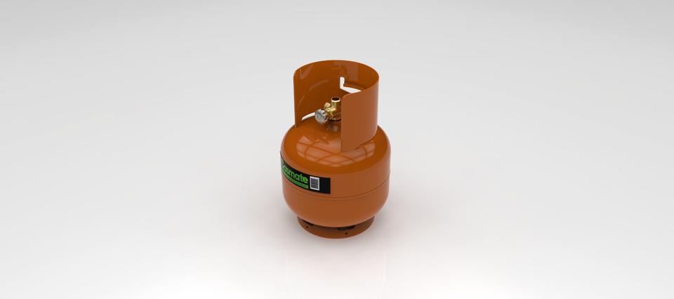 Camping Gás Cylinder 4kg / Botijão de Gás p/ Camping.