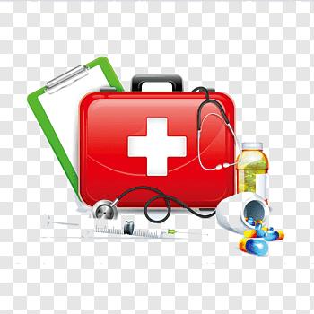 Medicine box, service brand health care, Botiquin free png.