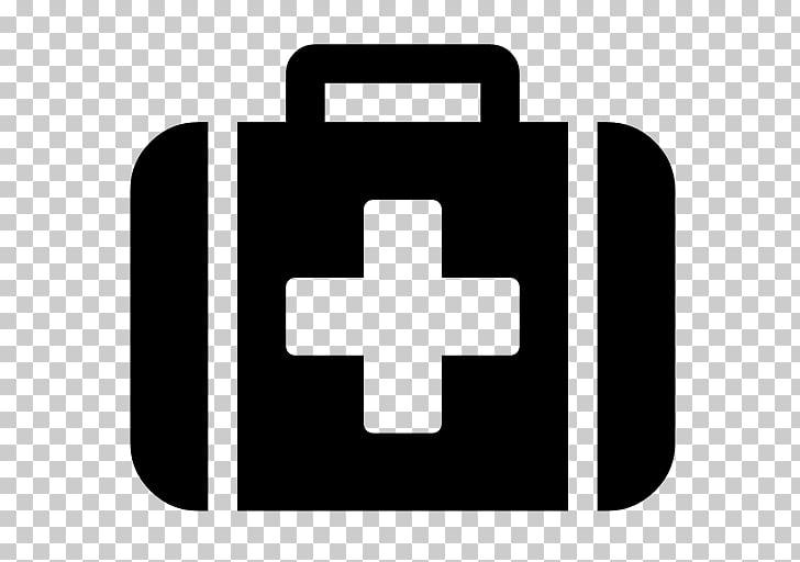 Iconos de computadora botiquín de primeros auxilios médico de.