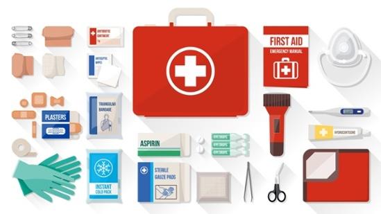 Botiquín de primeros auxilios: Qué debe contener?.
