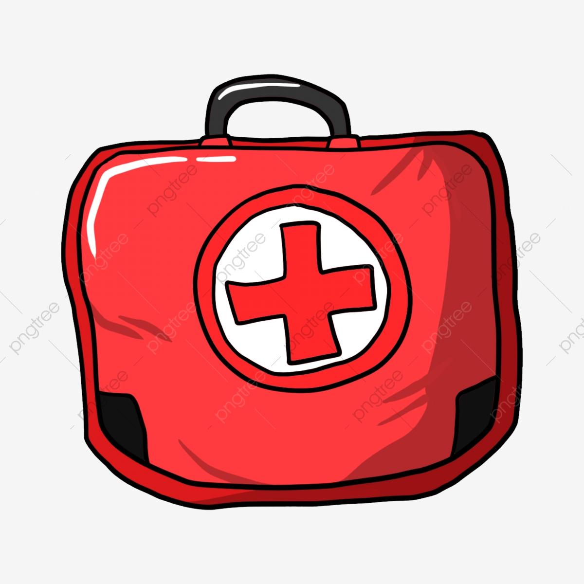 Botiquín Rojo De Primeros Auxilios Sociedad De La Cruz Roja Bolsa.
