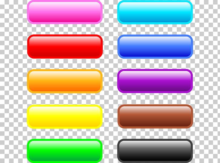 Ilustraciones de íconos vacíos, página web de botones web.