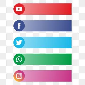 All Social Media Banner Logo For Text, Social Media Banner.