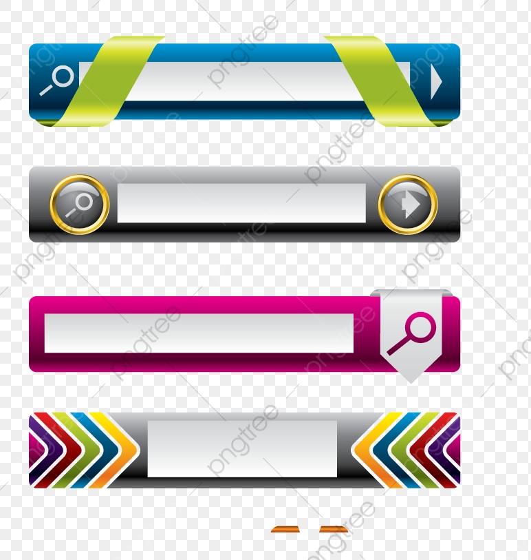 Transversal De Botones Web Vector, Pagina Web, Pulsador, Lateral PNG.
