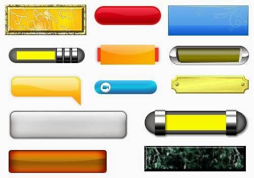 Diseño web en Barcelona: Exelente colección de botones para descargar.