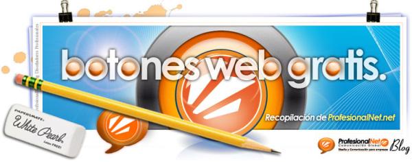 Botones web 2.0 gratis para tu web. Botones Iconos Web..