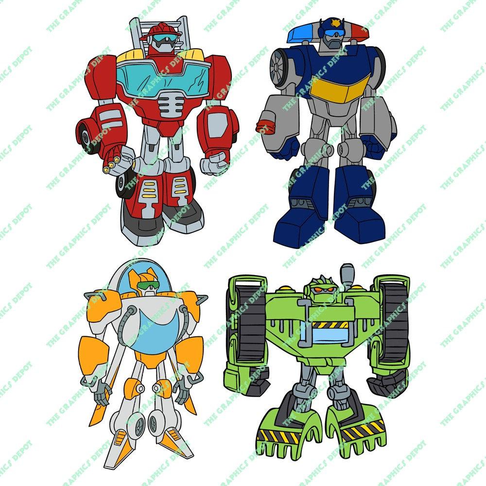 Rescue bots.