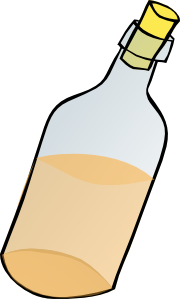 Bottle clip art Free Vector / 4Vector.