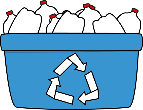 Plastic Recycling Clipart.