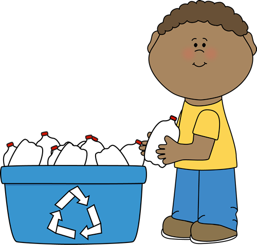 Recycling Bottles Clipart.