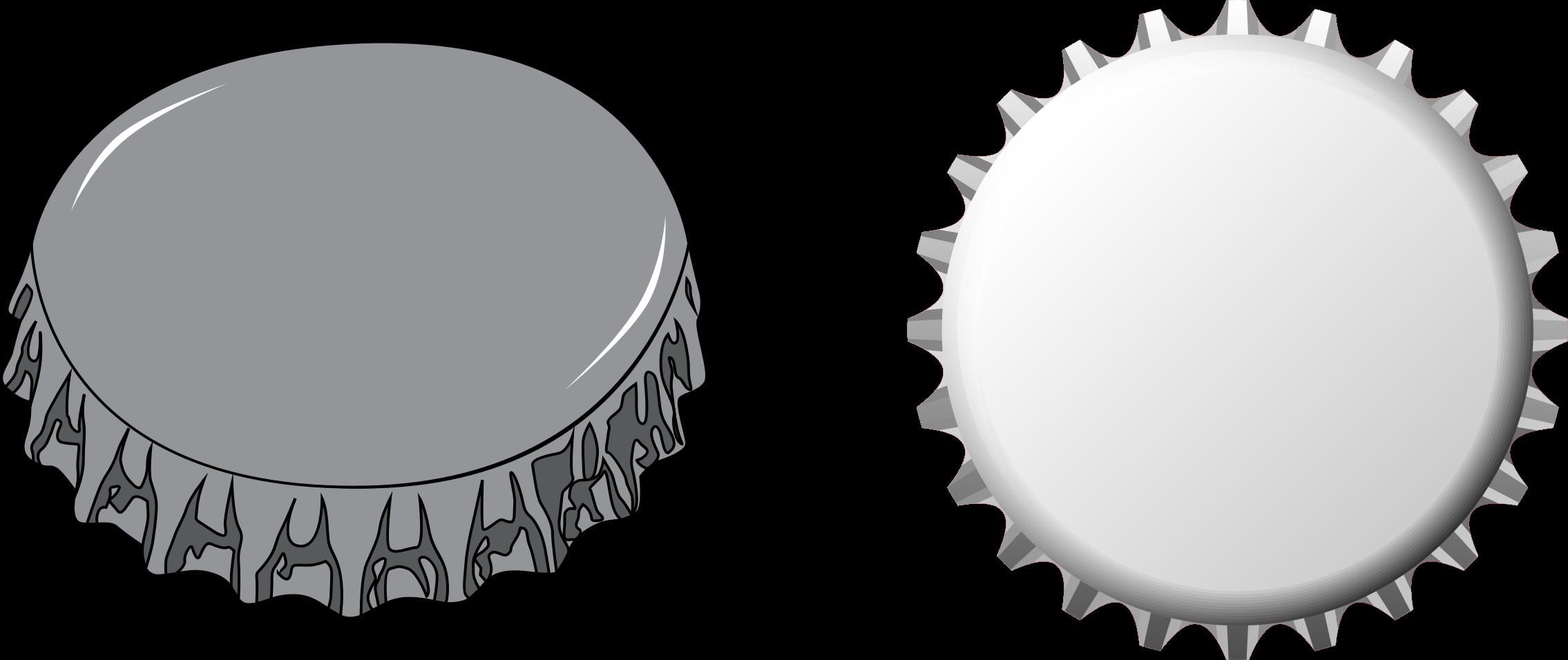 Bottle cap clip art.