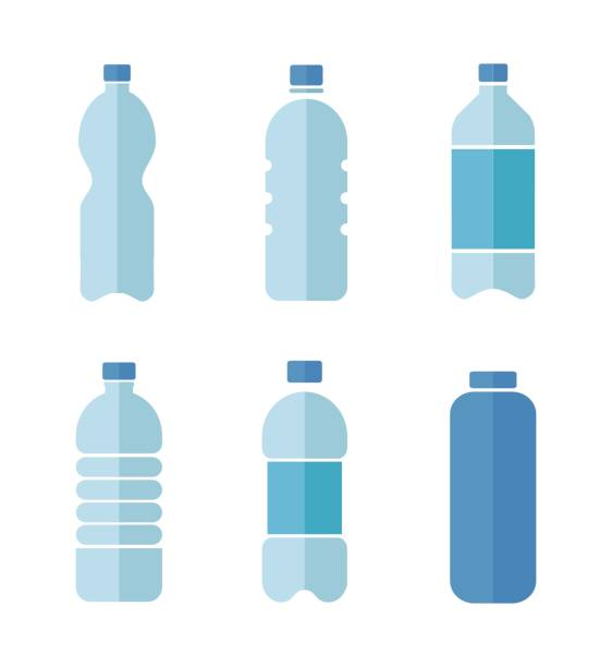 Best Water Bottle Illustrations, Royalty.