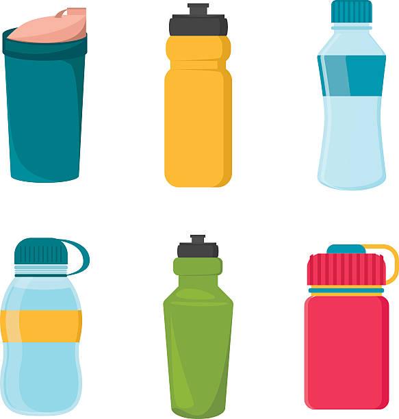 Best Drink Water Bottle Illustrations, Royalty.