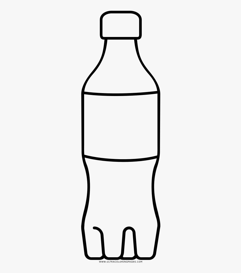 Bottles Line Art Coloring Book Clip Print Ⓒ.
