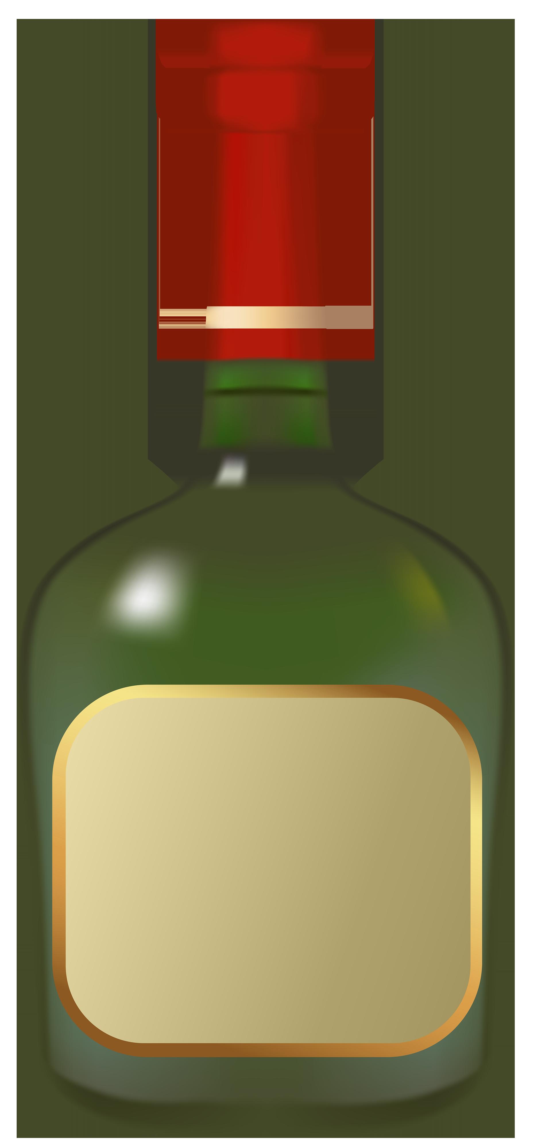 Liquor Bottle PNG Clipart.